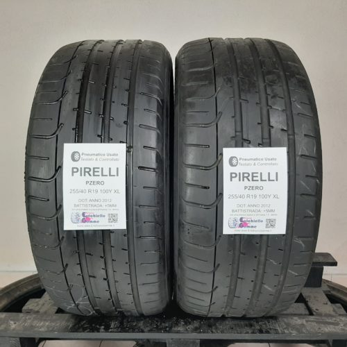 255/40 R19 100Y XL Pirelli PZero –  60% +5mm – Gomme Estive