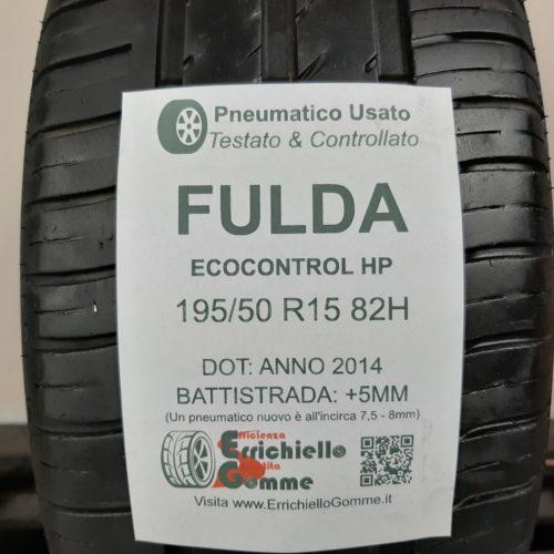 195/50 R15 82H Fulda EcoControl HP – 60% +5mm – Gomma Estiva