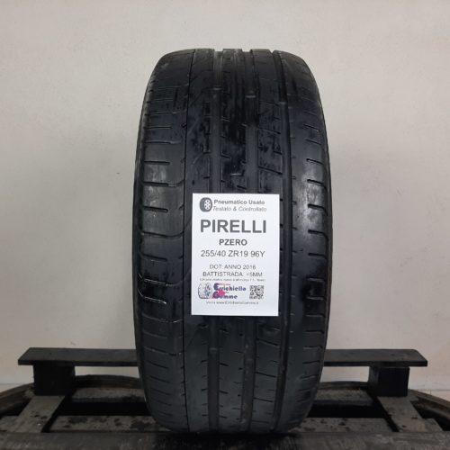 255/40 ZR19 96Y Pirelli PZero – 60% +5mm – Gomma Estiva