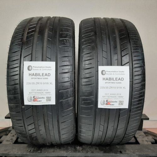 235/35 ZR19 91W XL Habilead SportMax S2000 – 70% +6mm – Gomme Estive