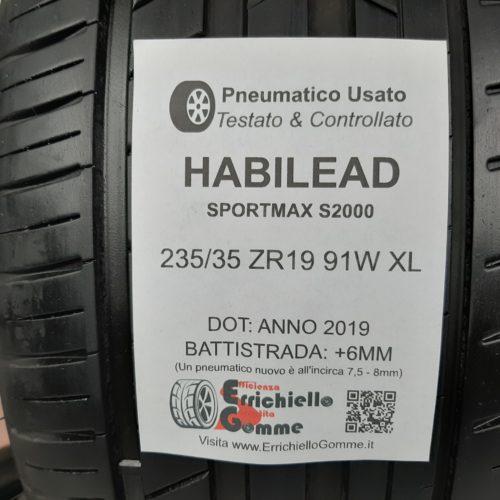 235/35 ZR19 91W XL Habilead SportMax S2000 – 70% +6mm – Gomme Estive