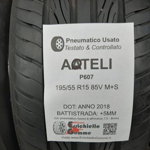 195/55 R15 85V M+S Aoteli P607 – 60% +5mm – Gomme 4 Stagioni
