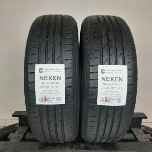 215/60 R17 96H Nexen NBlue HD Plus –  60% +5mm – Gomme Estive