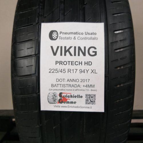 225/45 R17 94Y XL Viking Protech HD – 50% +4mm Gomma Estiva