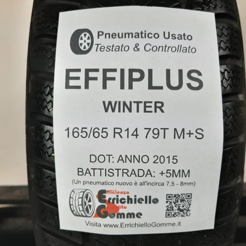 165/65 R14 79T M+S EffiPlus Winter – 60% +5mm – Gomma Invernale