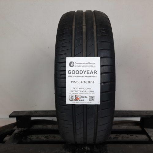 195/55 R16 87H Goodyear EfficientGrip Performance –  60% +5mm – Gomma Estiva