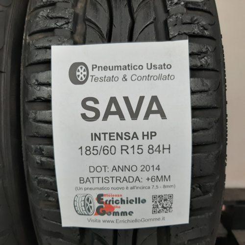 185/60 R15 84H Sava Intensa HP – 70% +6mm – Gomme Estive