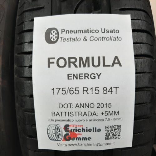 175/65 R15 84T Formula Energy – 60% +5mm – Gomme Estive