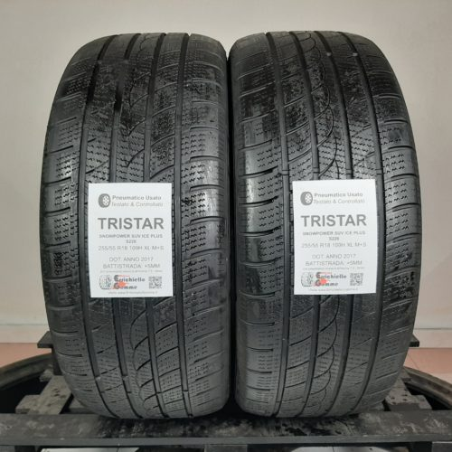 255/55 R18 109H XL M+S Tristar SnowPower SUV Ice Plus S220 – 60% +5mm – Gomme Invernali