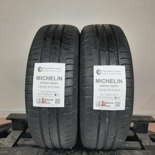 185/60 R15 84H Michelin Energy Saver – 50% +4mm – Gomme Estive