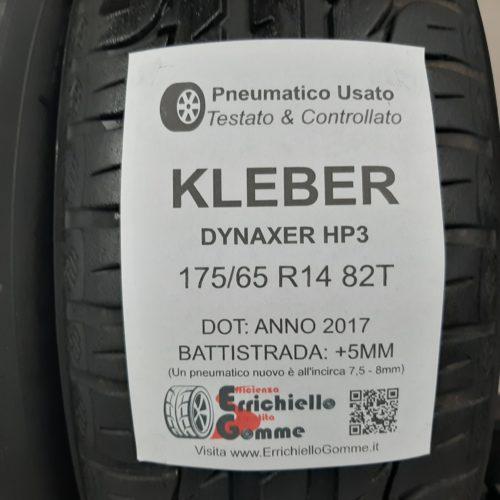 175/65 R14 82T Kleber Dynaxer HP3 – 60% +5mm – Gomme Estive