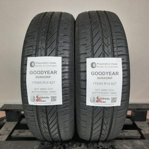 175/65 R14 82T Goodyear Duragrip –  70% +6mm – Gomme Estive