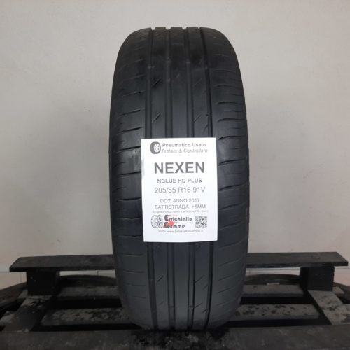 205/55 R16 91V Nexen NBlue HD Plus – 60% +5mm – Gomma Estiva
