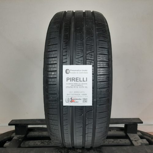 255/50 R19 107H XL Pirelli Scorpion Verde (All Season) (MO) (EcoImpact) –  70% +6mm – Gomma 4 Stagioni