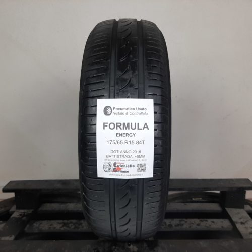 175/65 R15 84T Formula Energy – 60% +5mm – Gomma Estiva