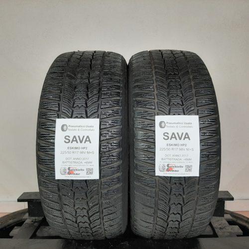 225/50 R17 98V M+S Sava Eskimo HP2 + 70% +6mm – Gomme Invernali