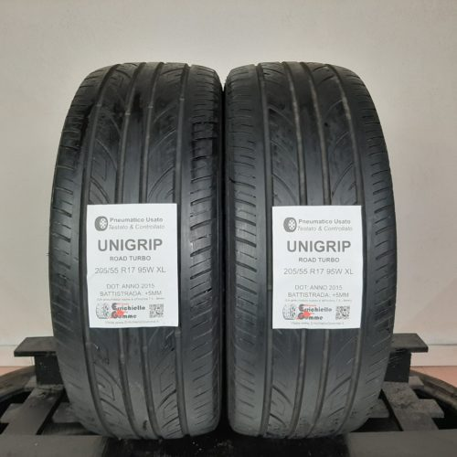 205/55 R17 95W XL Unigrip Road Turbo + 60% +5mm – Gomme Estive
