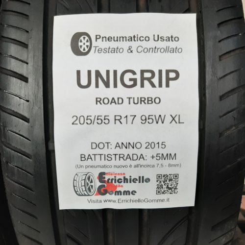 205/55 R17 95W XL Unigrip Road Turbo + 60% +5mm – Gomme Estive
