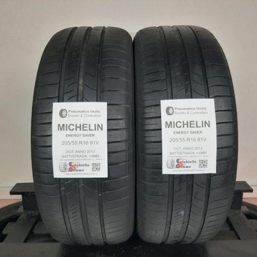 205/55 R16 91V Michelin Energy Saver – 50% +4mm – Gomme Estive