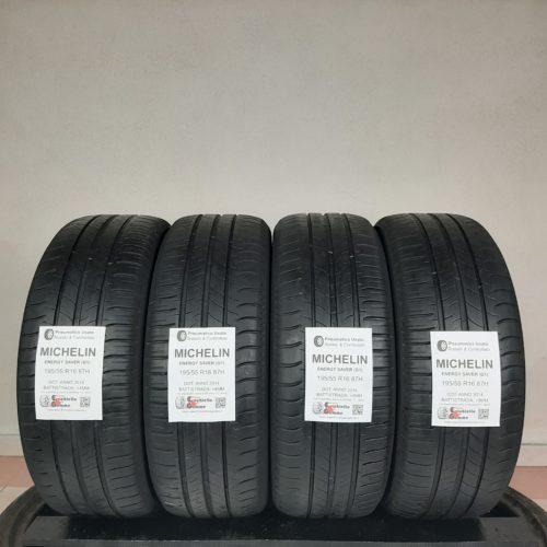 195/55 R16 87H Michelin Energy Saver (G1) – 50% +4mm – Gomme Estive