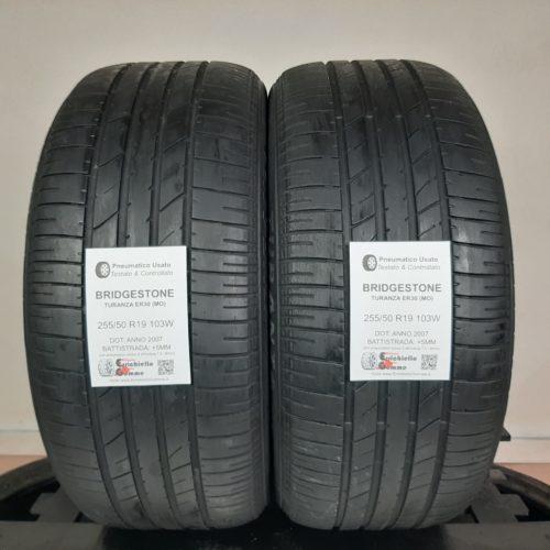 255/50 R19 103W Bridgestone Turanza ER30 (MO) – 60% +5mm – Gomme Estive