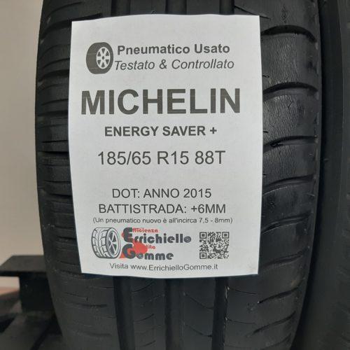 185/65 R15 88T Michelin Energy Saver+ – 70% +6mm – Gomme Estive