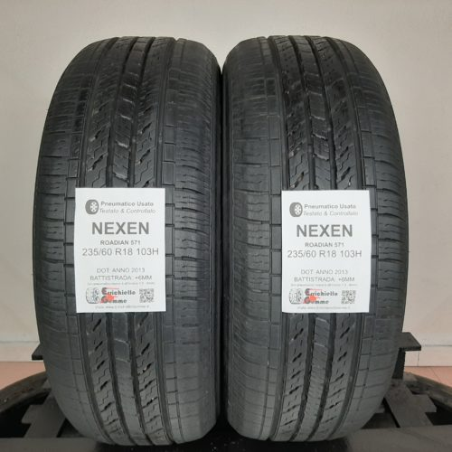 235/60 R18 103H Nexen Roadian 571 + 70% +6mm Gomme Estive