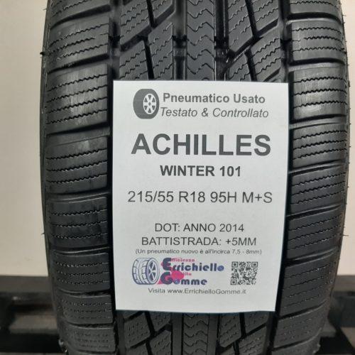 215/55 R18 95H M+S Achilles Winter 101 – 60% +5mm – Gomma Invernale
