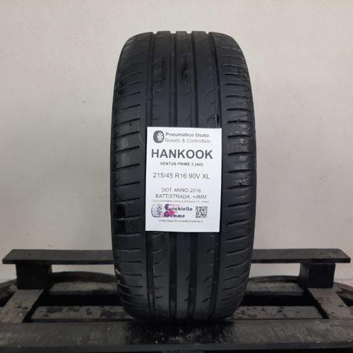 215/45 R16 90V XL Hankook Ventus Prime 2 (AO) – 50% +4mm – Gomma Estiva