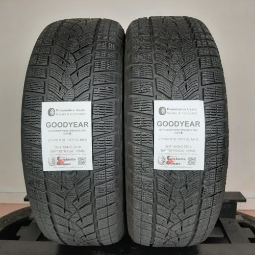 235/60 R18 107H XL M+S Goodyer Ultragrip Performance SUV (GEN 1) – 70% +6mm – Gomme Invernali