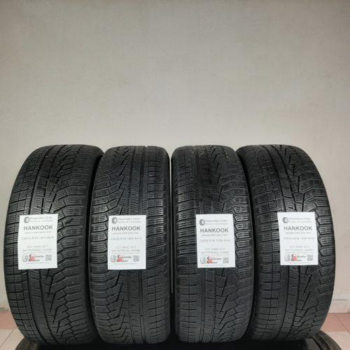 235/55 R18 100H M+S Hankook Winter Icept Evo 2 SUV –  50/60% +4/5mm – Gomme Invernali