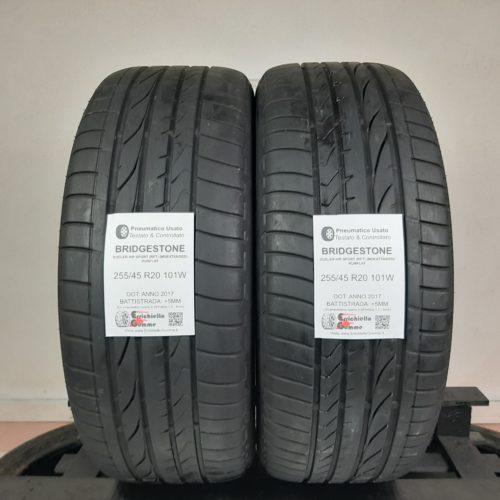 255/45 R20 101W Bridgestone Dueler H/P Sport (RFT) (MOEXTENDED) Runflat – 60% +5mm – Gomme Estive