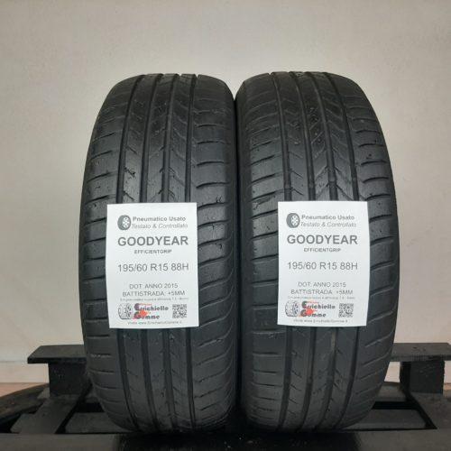 195/60 R15 88H Goodyear EfficientGrip – 60% +5mm – Gomme Estive