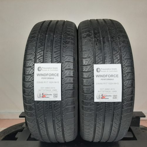 235/60 R17 102H M+S Windforce Performax – 60% +5mm – Gomme 4 Stagioni
