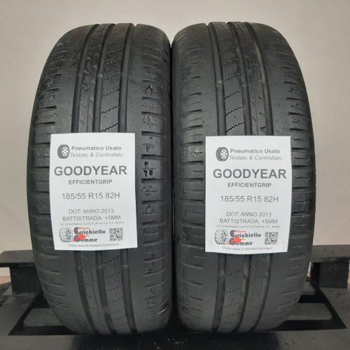 185/55 R15 82H Goodyear EfficientGrip – 60% +5mm – Gomme Estive