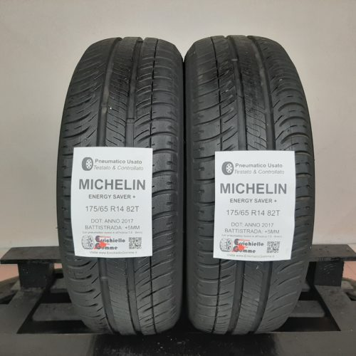 175/65 R14 82T Michelin Energy Saver+ – 60% +5mm – Gomme Estive