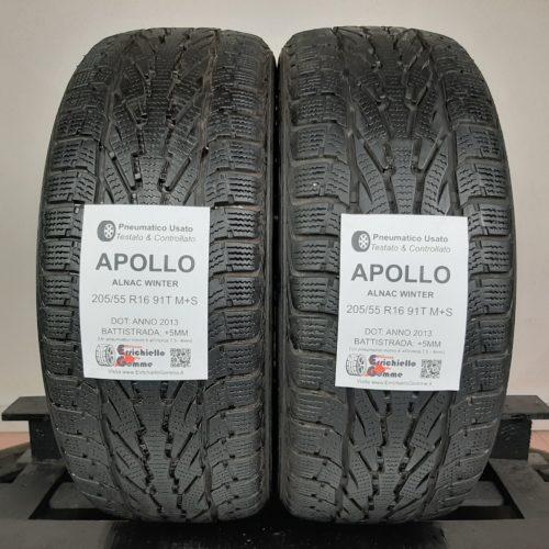 215/60 R17 91T M+S Apollo Alnac Winter – 60% +5mm – Gomme Invernali