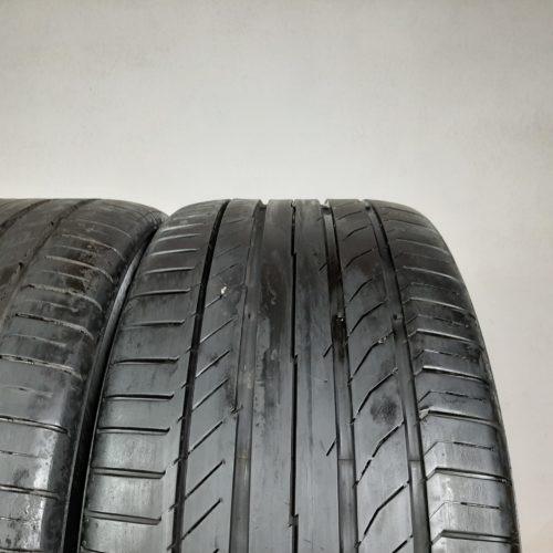 255/45 R18 99W Continental ContiSportContact 5 (SSR) (RSC) Runflat –  60% +5mm – Gomme Estive