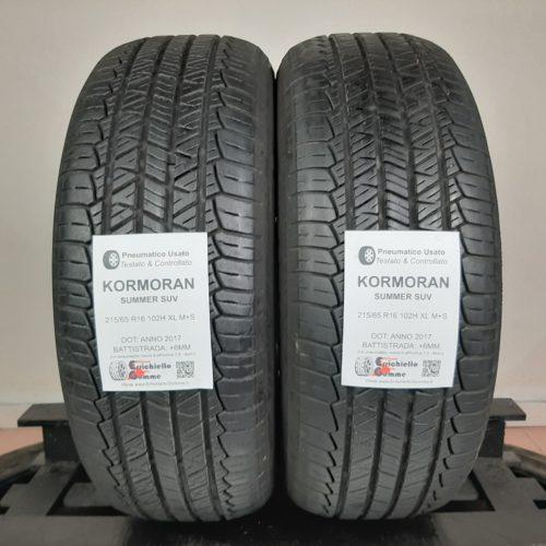 215/65 R16 102H XL M+S Kormoran Summer SUV – 70% +6mm – Gomme 4 Stagioni