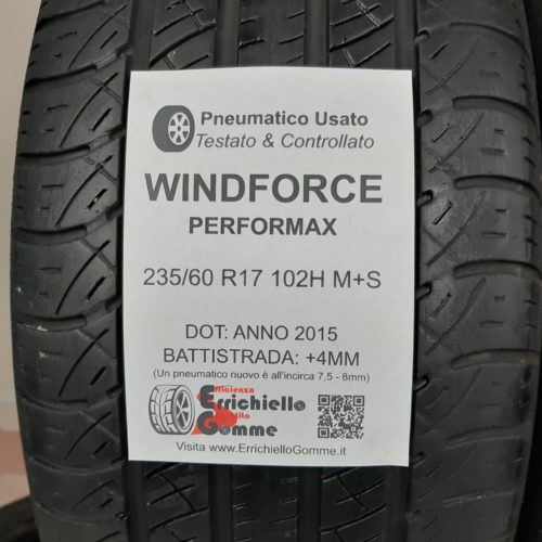 235/60 R17 102H M+S Windforce Performax – 50% +4mm – Gomme 4 Stagioni