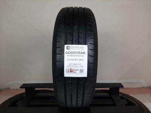 215/60 R17 96H Goodyear EfficientGrip SUV 4X4 – 60% +5mm – Gomma Estiva