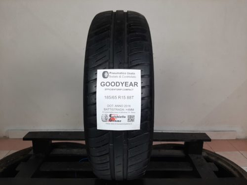 185/65 R15 88T Goodyear EfficientGrip Compact – 50% +4mm – Gomma Estiva