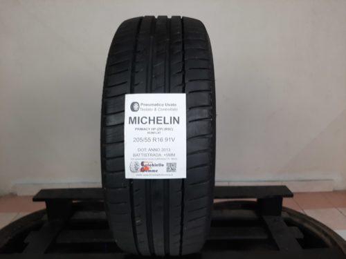 205/55 R16 91V Michelin Primacy HP (ZP) (RSC) Runflat – 60% +5mm – Gomma Estiva