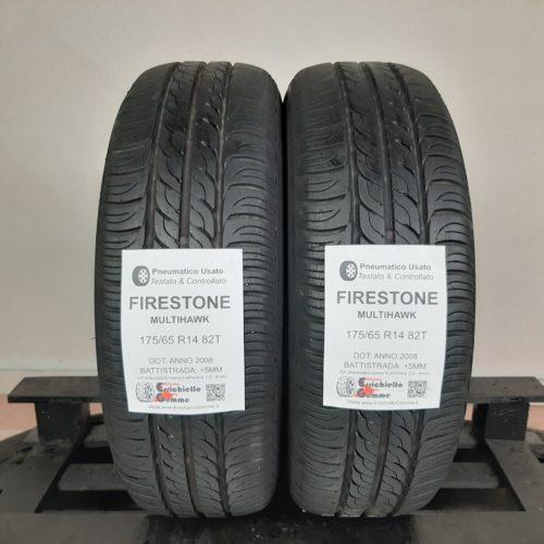 175/65 R14 82T Firestone MultiHawk – 60% +5mm – Gomme Estive