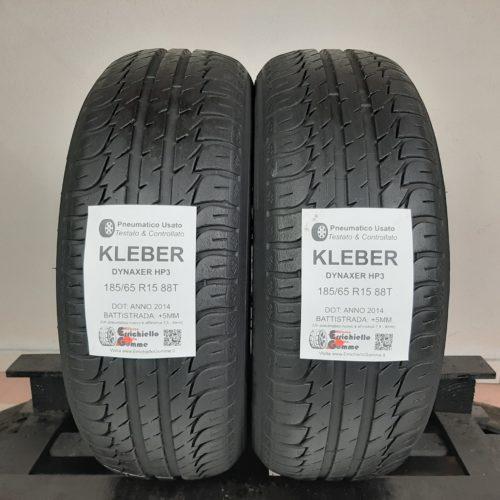 185/65 R15 88T Kleber Dynaxer HP3 – 60% +5mm – Gomme Estive