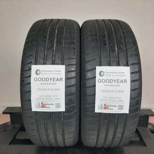 195/55 R15 85H Goodyear EfficientGrip – 50% +4mm – Gomme Estive
