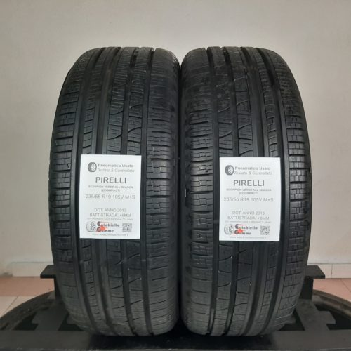 235/55 R19 105V M+S Pirelli Scorpion Verde All Season (EcoImpact) – 70% +6mm – Gomme 4 Stagioni