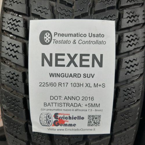 225/60 R17 103H XL M+S Nexen Winguard SUV – 60% +5mm – Gomme Invernali