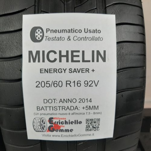 205/60 R16 92V Michelin Energy Saver+ –  60% +5mm – Gomme Estive