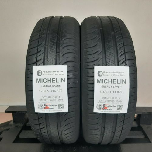 175/65 R14 82T Michelin Energy Saver – 60% +5mm Gomme Estive